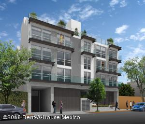 Departamento En Ventaen Benito Juárez, Portales, Mexico, MX RAH: 18-465