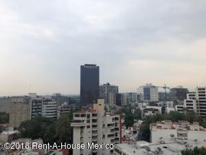 Departamento En Rentaen Miguel Hidalgo, Reforma Social, Mexico, MX RAH: 18-522