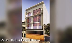 Departamento En Ventaen Benito Juárez, Nápoles, Mexico, MX RAH: 18-588