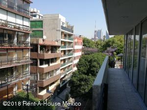 Departamento En Rentaen Cuauhtémoc, Condesa, Mexico, MX RAH: 18-591