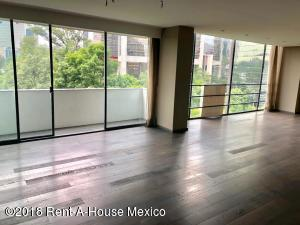 Departamento En Rentaen Miguel Hidalgo, Polanco, Mexico, MX RAH: 18-696