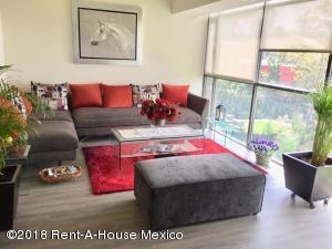 Departamento En Rentaen Alvaro Obregón, Paseo De Las Lomas, Mexico, MX RAH: 18-699