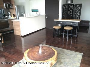 Departamento En Rentaen Cuajimalpa De Morelos, Santa Fe Cuajimalpa, Mexico, MX RAH: 19-3