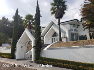 Casa En Rentaen Atizapan De Zaragoza, Hacienda De Valle Escondido, Mexico, MX RAH: 19-1096