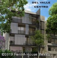 Departamento En Ventaen Benito Juárez, Del Valle Centro, Mexico, MX RAH: 19-1184