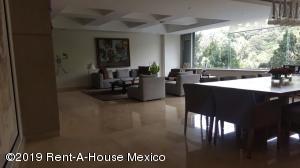 Departamento En Rentaen Cuajimalpa De Morelos, Bosques De Las Lomas, Mexico, MX RAH: 19-1274