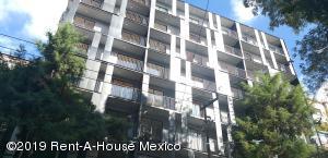 Departamento En Rentaen Cuauhtémoc, San Rafael, Mexico, MX RAH: 19-1547