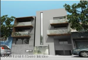 Departamento En Ventaen Benito Juárez, Nápoles, Mexico, MX RAH: 19-2219