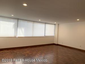Departamento En Rentaen Miguel Hidalgo, Polanco, Mexico, MX RAH: 19-2363
