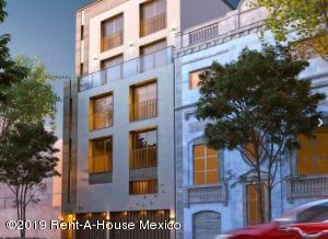 Departamento En Ventaen Cuauhtémoc, Roma Norte, Mexico, MX RAH: 20-1062