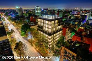 Departamento En Ventaen Benito Juárez, Nápoles, Mexico, MX RAH: 20-1075