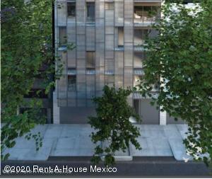 Departamento En Rentaen Cuauhtémoc, Roma Norte, Mexico, MX RAH: 20-1470