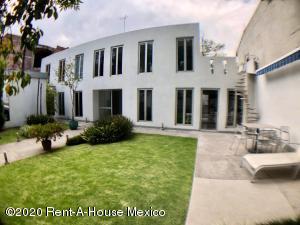 Casa En Rentaen Miguel Hidalgo, Lomas De Chapultepec, Mexico, MX RAH: 20-1791