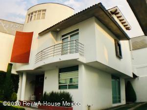 Casa En Rentaen Cuajimalpa De Morelos, Abdias Garcia Soto, Mexico, MX RAH: 20-1824