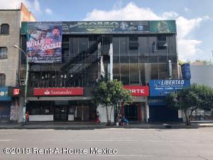 Edificio En Rentaen Cuauhtémoc, Santa Maria La Ribera, Mexico, MX RAH: 20-2195