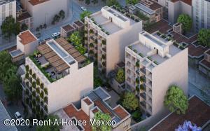 Departamento En Ventaen Benito Juárez, Nápoles, Mexico, MX RAH: 20-2547