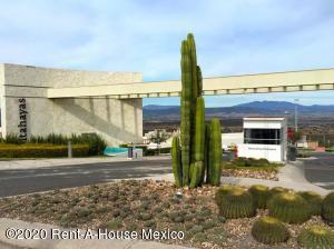 Terreno En Ventaen El Marques, Zibata, Mexico, MX RAH: 20-2847