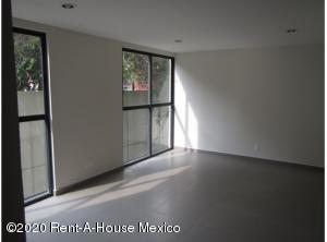 Departamento En Rentaen Alvaro Obregón, Carola, Mexico, MX RAH: 20-3040