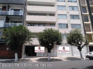 Departamento En Rentaen Benito Juárez, Del Valle, Mexico, MX RAH: 20-3208
