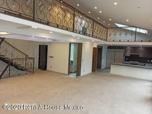 Departamento En Rentaen Miguel Hidalgo, Polanco, Mexico, MX RAH: 20-3274