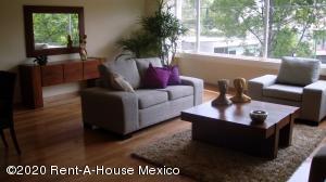 Departamento En Rentaen Miguel Hidalgo, Lomas De Chapultepec, Mexico, MX RAH: 20-3378