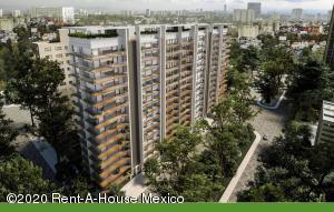 Departamento En Ventaen Cuauhtémoc, Hipodromo Condesa, Mexico, MX RAH: 20-3415
