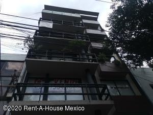 Departamento En Rentaen Cuauhtémoc, Roma Norte, Mexico, MX RAH: 20-3623
