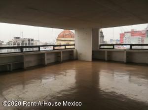 Oficina En Rentaen Cuauhtémoc, Centro, Mexico, MX RAH: 20-3672