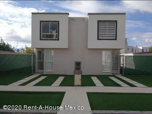 Casa En Rentaen Tizayuca, El Carmen, Mexico, MX RAH: 20-3791