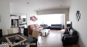 Departamento En Rentaen Huixquilucan, Bosques De Las Palmas, Mexico, MX RAH: 20-3797