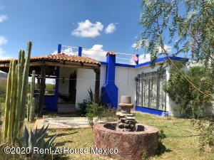 Casa En Rentaen Dolores Hidalgo, Ejido Tequisquiapan, Mexico, MX RAH: 20-3801