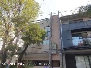 Departamento En Rentaen Benito Juárez, Nápoles, Mexico, MX RAH: 21-440