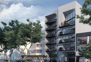 Departamento En Ventaen Benito Juárez, Letran Valle, Mexico, MX RAH: 21-541
