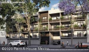 Departamento En Ventaen Cuauhtémoc, Roma Sur, Mexico, MX RAH: 21-847