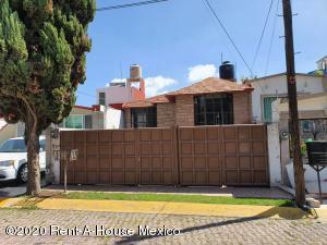 Casa En Rentaen Tlalnepantla De Baz, El Dorado, Mexico, MX RAH: 21-932
