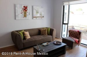 Departamento En Rentaen Cuauhtémoc, Centro, Mexico, MX RAH: 21-1126