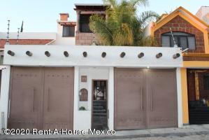 Casa En Rentaen Queretaro, Milenio 3Era Seccion, Mexico, MX RAH: 21-1991