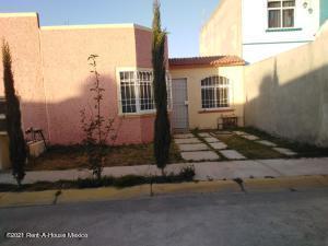 Casa En Rentaen Pachuca De Soto, San Antonio El Desmonte, Mexico, MX RAH: 21-2912