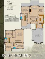 Plan 3405 Flagstaff Ranch/ Aspen Shadows, Flagstaff, AZ 86005