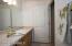 Large Lower Level Bathroom