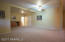 Spacious Great Room on the lower level has plenty of opportunities