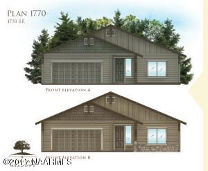 Plan 1770 Flagstaff Meadows, Bellemont, AZ 86015