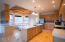 What a gorgeous kitchen! Plenty of room for family and friends