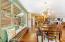 "High Impact ""Sputnik"" Chandelier illuminates the dining room with elegance"