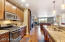 Contemporary & spacious kitchen with stainless steel appliances