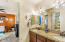 Shared Guest Bath w/ granite & double sinks