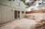 French doors out to open patio – perfect place to BBQ