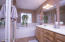 Master Bath retreat has remarkable storage and special features!