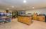 Bonus Game Room/Hobby Work Room on Main Level