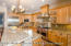 Beautiful custom kitchen with upgraded appliances like Wolf and Subzero.
